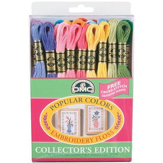 DMC Popular Colors Embroidery Floss (Pack of 36)