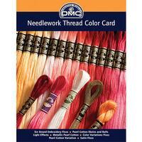 DMC Needlework Threads Printed Color Card