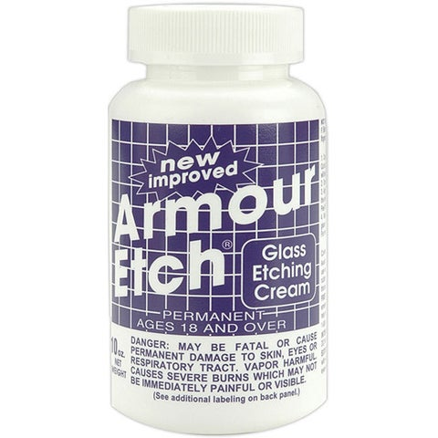 Armour Etch 10-ounce Glass Etching Cream
