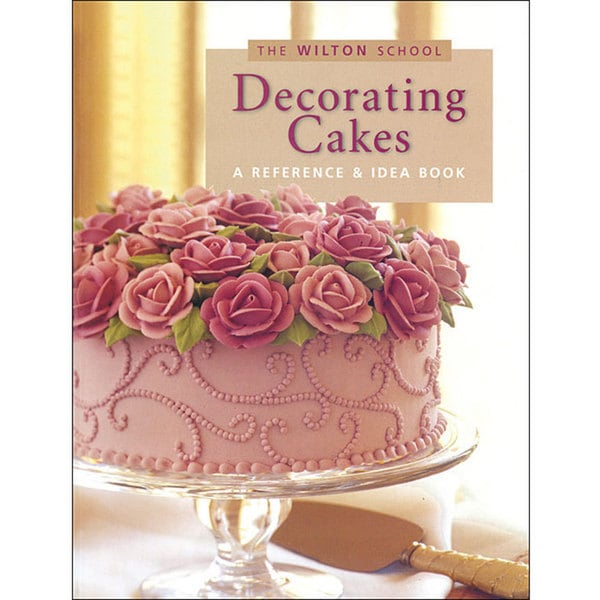 Cake Decorated Like Books : Wilton Cake Decorating Book - Free Shipping On Orders Over ...