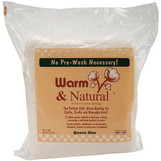 Warm and Natural Queen-size Cotton Batting