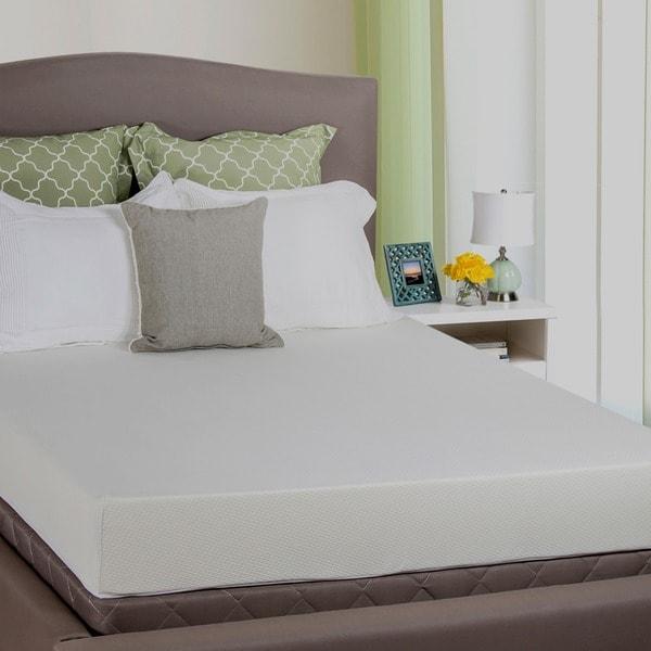 Select Luxury E.C.O. Natural Latex Choice of Firmness 10-Inch Twin-size Hybrid Mattress