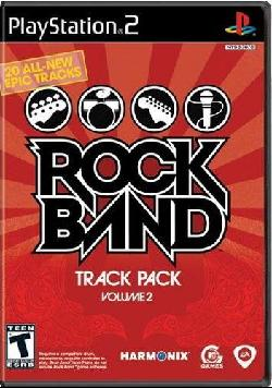 PS2 - Rock Band: Track Pack Volume 2