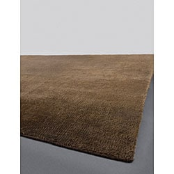 Artist's Loom Hand-woven Contemporary Solid Natural Eco-friendly Jute Rug (2'6x7'6) - Thumbnail 2