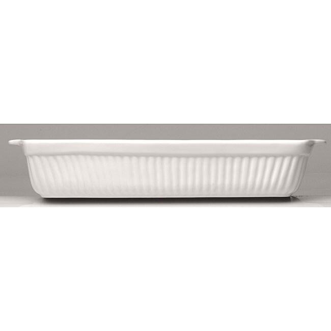 Bianco Rectangular 11.5-inch Casserole