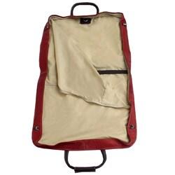 Piel Top Grain Leather Garment Bag - Thumbnail 2