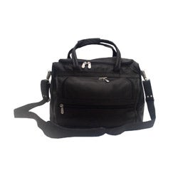 Piel Leather Top Grain Leather Piggy Back Carry-on - Thumbnail 1