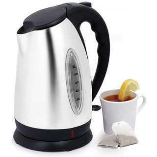 Stainless Steel 10-cup Cordless Electric Kettle