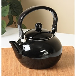 Calypso Basics Black 2-quart Teakettle