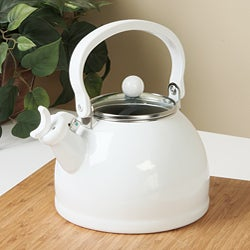 Calypso Basics White Whistling Teakettle