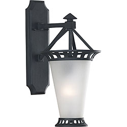 Beale 32-inch High With Textured Matte Black Finish Street X-large Outdoor Wall Lantern