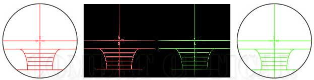 NcStar 3-12 x 50 mm Illuminated Euro-style Rifle Scope - Thumbnail 1