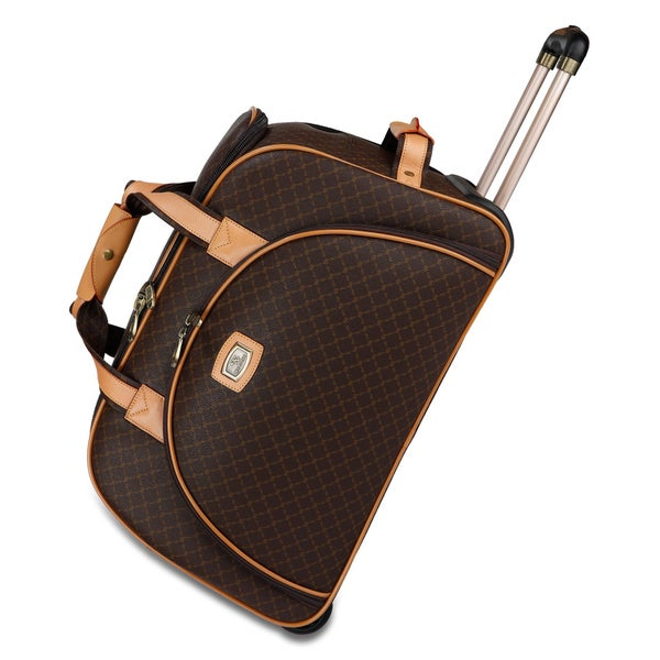 Rioni Signature 23 Inch Large Rolling Duffel Bag