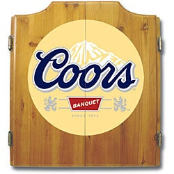 Officially Licensed Coors Light Logo Dart Cabinet Set - Thumbnail 1