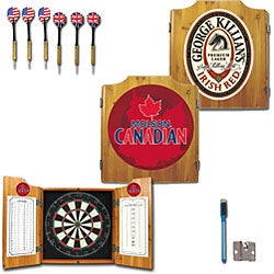Officially Licensed Coors Light Logo Dart Cabinet Set - Thumbnail 2