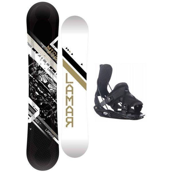 Shop Lamar Mission 157 Cm Snowboard With Flow Bindings
