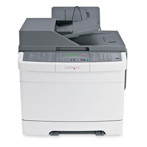 Lexmark X544N Laser Multifunction Printer - Color - Plain Paper Print