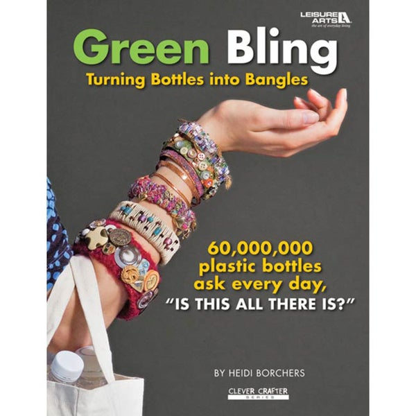'Leisure Arts-Green Bling' Craft Book
