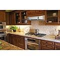 Brushed-Stainless-Steel 36-Inch Under-Cabinet Kitchen Range Hood