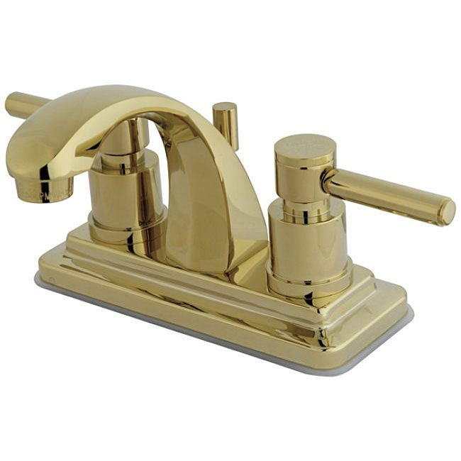 Concord Polished Brass 4 Inch Bathroom Faucet Free Shipping. 4 Inch Bath Faucet   Rukinet com