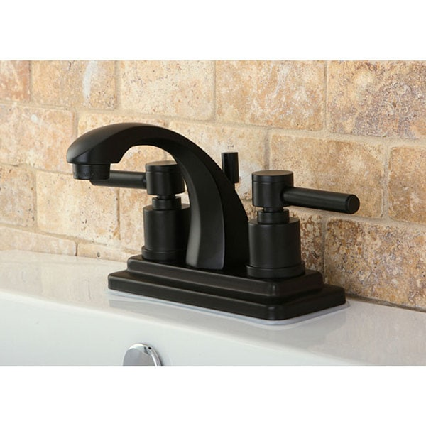 Concord 4-inch Oil Rubbed Bronze Bathroom Faucet