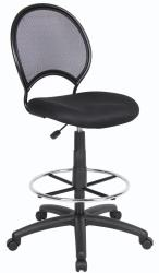 Boss Adjustable Mesh Drafting Stool Free Shipping Today