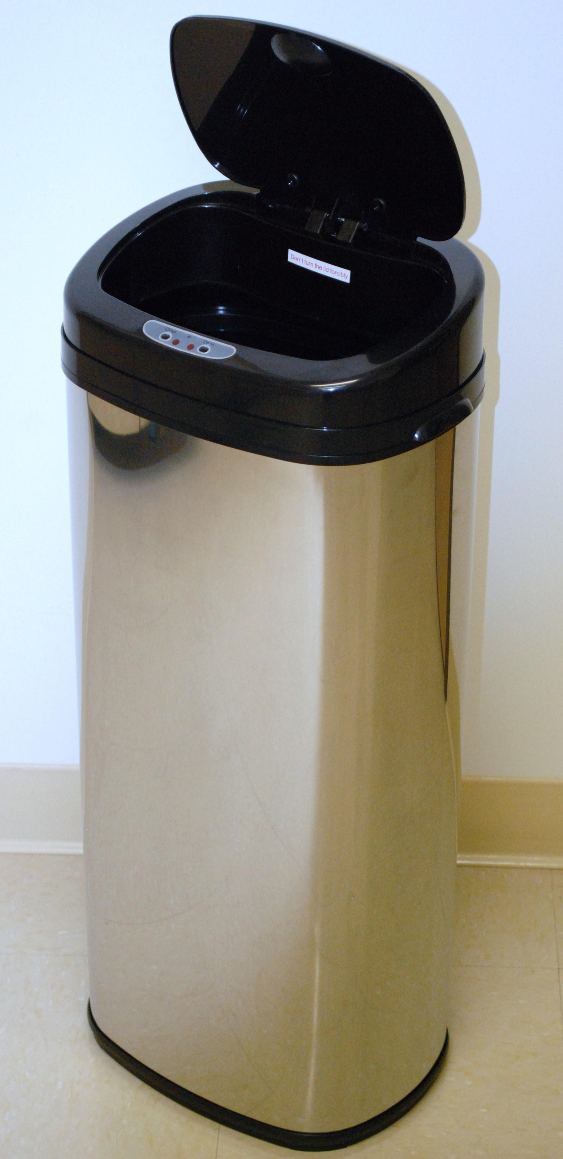 InVion Touchless 13.2-gallon Automatic Trash Can
