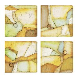Gallery Direct DeRosier 'Analogous I-IV' Giclee Canvas Art Print (Set of 4)