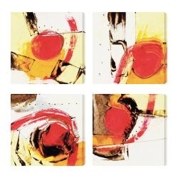 Gallery Direct 'Ripe Grain I. II IV V' Giclee Canvas Wall Art (Set of 4)