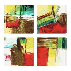 Gallery Direct 'Foliage I III IV V' Giclee Canvas Wall Art (Set of 4)
