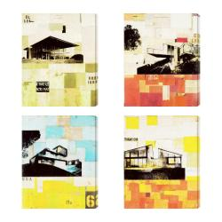 Gallery Direct 'Sustainable Living I-IV' Giclee Canvas Wall Art (Set of 4)