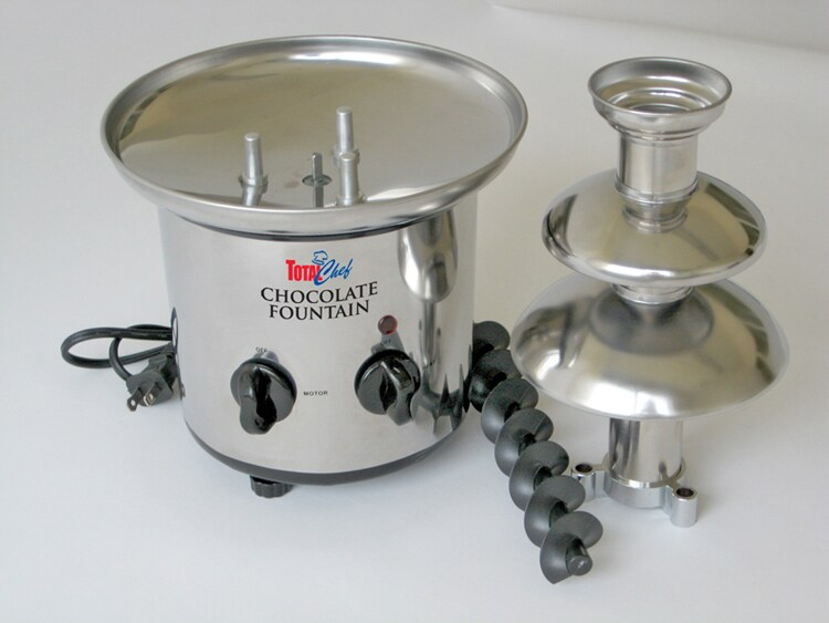 Koolatron Stainless Steel Chocolate Fountain - Thumbnail 1