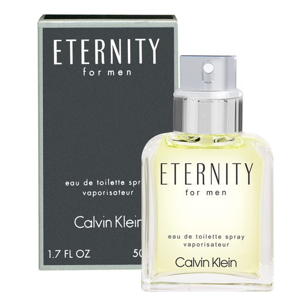 Calvin Klein Eternity Men S 1 7 Ounce Eau De Toilette Spray Green On Sale Overstock 3500851