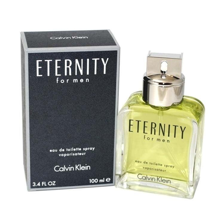Calvin Klein Eternity Men S 3 4 Ounce Eau De Toilette Spray 3 1 4 Oz