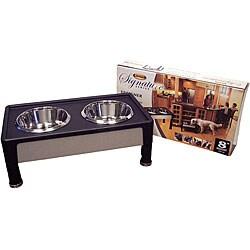 Signature Series 8-inch Black Pet Diner