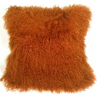 Pillow Décor - Mongolian Sheepskin Decorative Throw Pillow