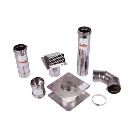 Horizontal Vent Kit for Eccotemp Water Heaters