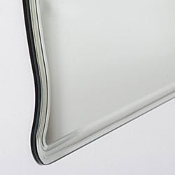 Frameless Wide Wall Mirror - Thumbnail 1