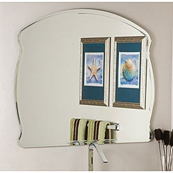 Frameless Wide Wall Mirror