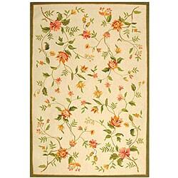 Safavieh Hand-hooked Garden Ivory Wool Area Rug - 8'9 x 11'9 - Thumbnail 0