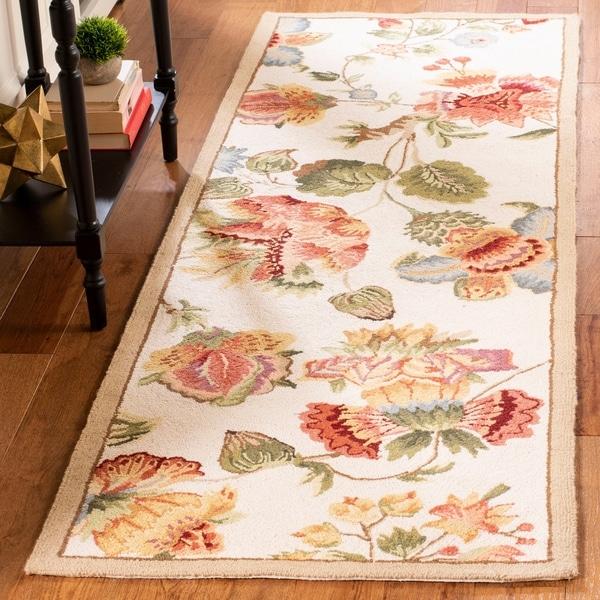 Safavieh Hand-hooked Chelsea Nataly Country Oriental Wool Rug
