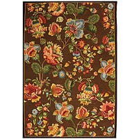 Safavieh Hand-hooked Transitional Brown Wool Rug - 8'9 X 11'9