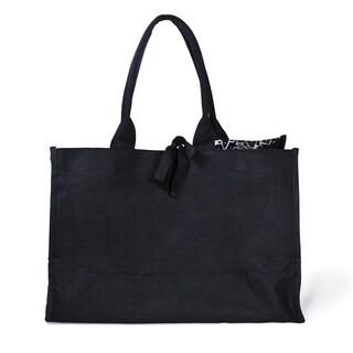 Damask Fabric Tote Bag