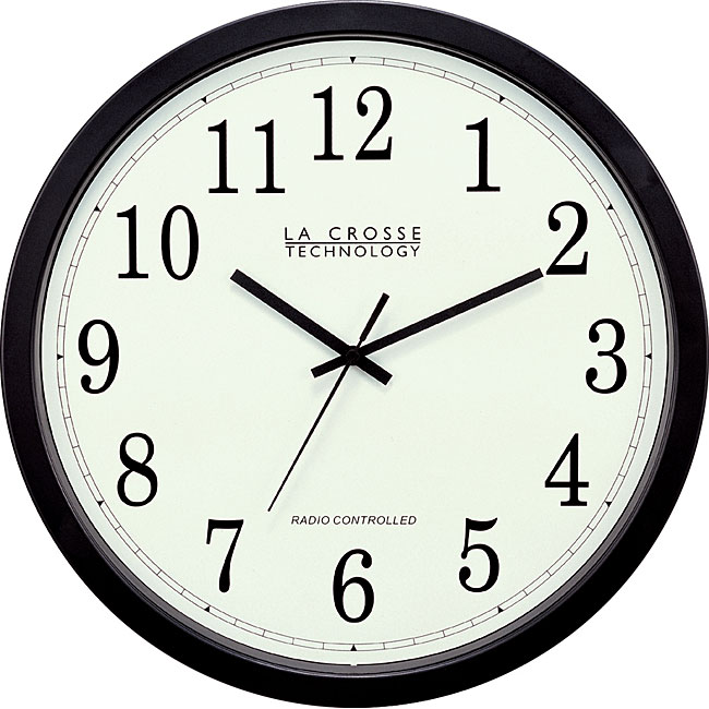 La Crosse Technology WT-3143A 14-inch Atomic Wall Clock - Thumbnail 0