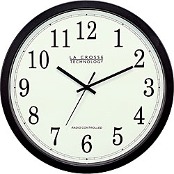 La Crosse Technology WT 3143A 14 Inch Atomic Wall Clock