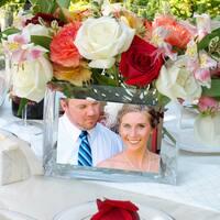 Glass Photo Vase
