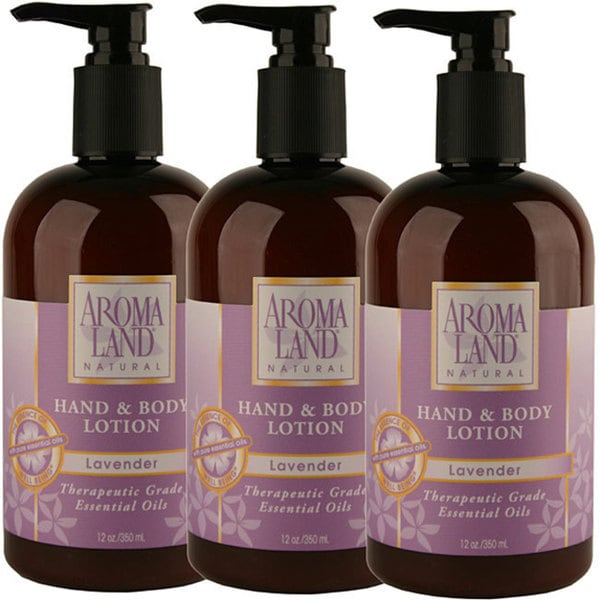 Aromaland Lavender 12-ounce Body Lotion (Pack of 3)