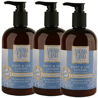 Aromaland Bay Laurel Mint 12-ounce Lotion (Pack of 3)