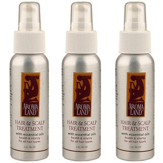 Aromaland 2-ounce Hair and Scalp Treatment (Pack of 3)