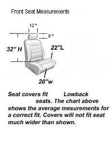 Race Grey 11-piece Automotive Seat Cover